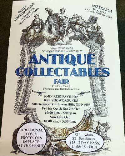 Albion antiques and collectable fair