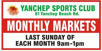 Yanchep sports Club Monthly Markets