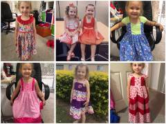 Nutty Nana's homemade kiddies clothes